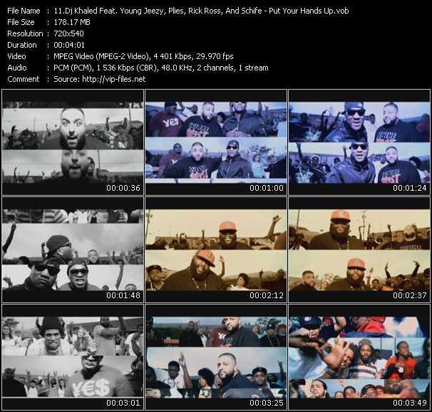 Dj Khaled Feat. Young Jeezy, Plies, Rick Ross, And Schife video screenshot