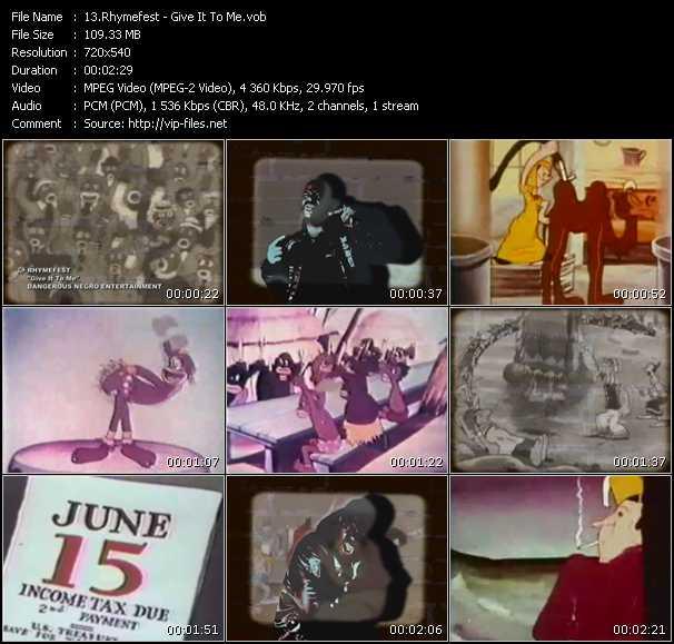 Rhymefest video screenshot