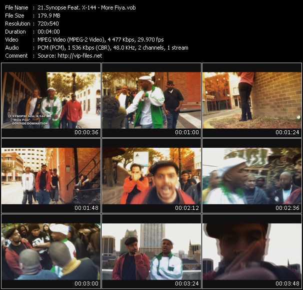Synopse Feat. X-144 video screenshot