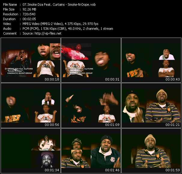 Smoke Dza Feat. Curtains video screenshot
