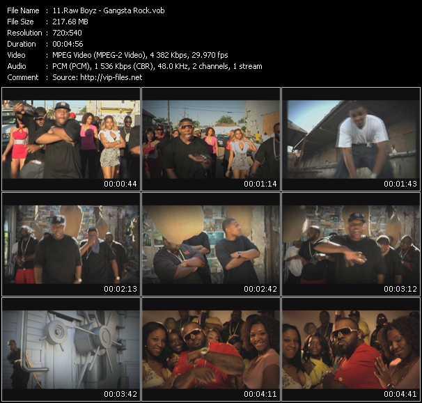 Raw Boyz video screenshot