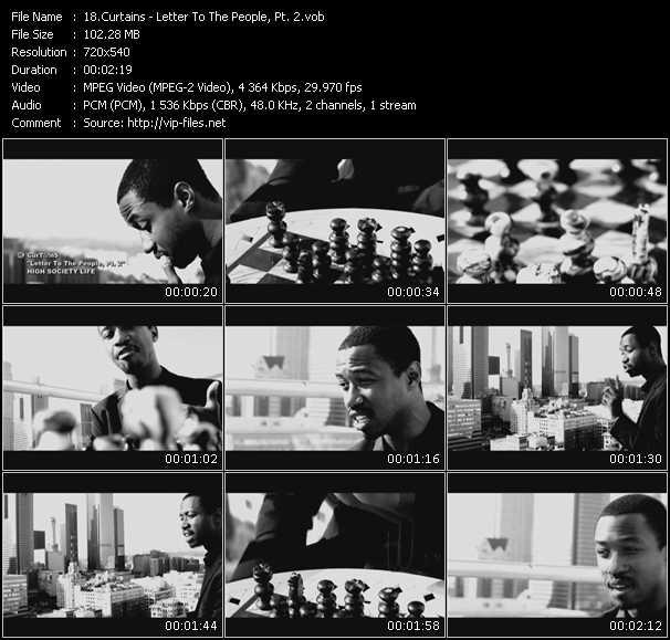 Curtains video screenshot