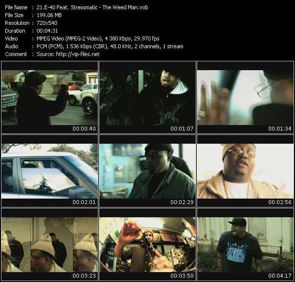 E-40 Feat. Stressmatic video screenshot