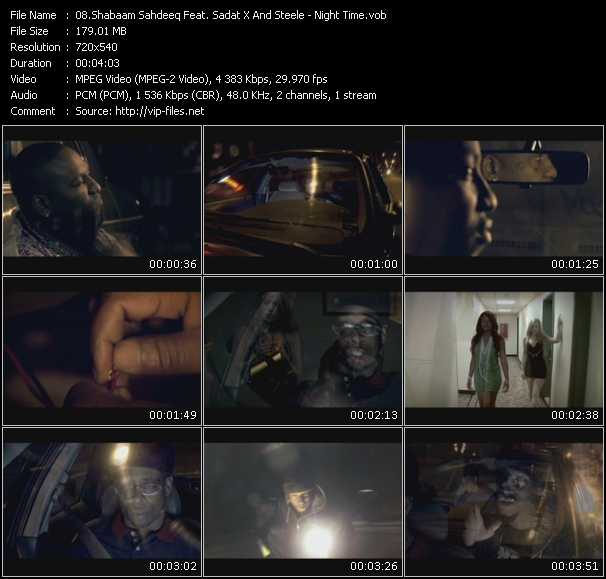 Shabaam Sahdeeq Feat. Sadat X And Steele video screenshot
