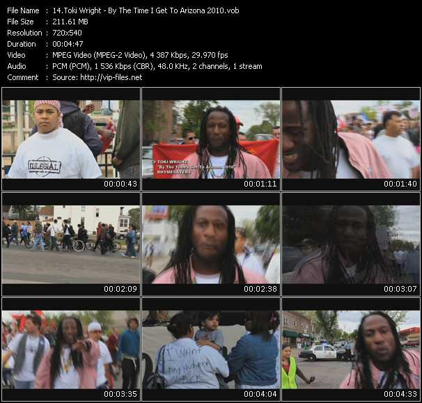 Toki Wright video screenshot