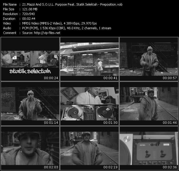 Mazzi And S.O.U.L. Purpose Feat. Statik Selektah video screenshot