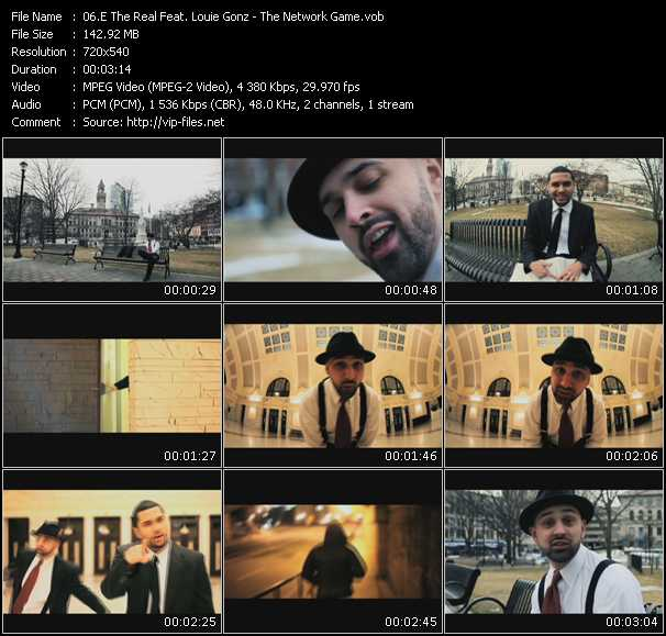 E The Real Feat. Louie Gonz video screenshot