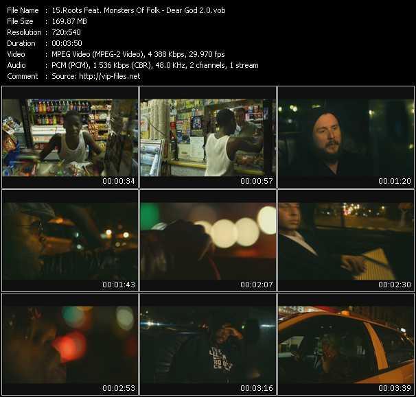Roots Feat. Monsters Of Folk video screenshot