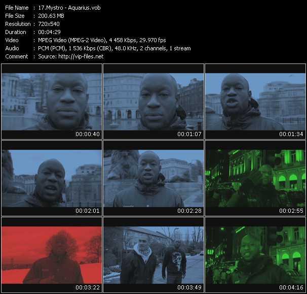 Mystro video screenshot