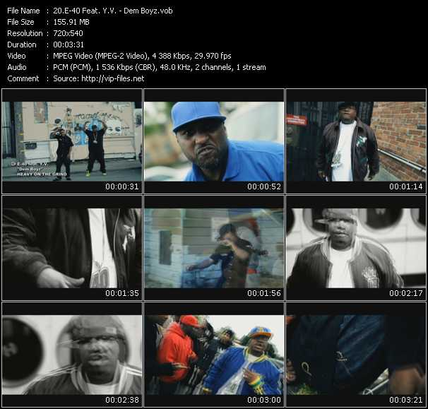 E-40 Feat. Y.V. video screenshot