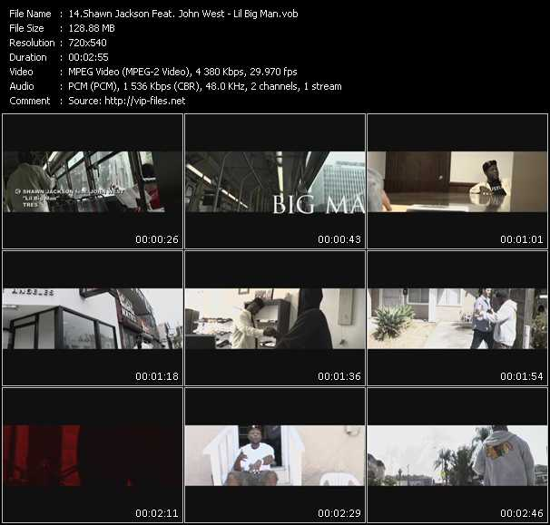 Shawn Jackson Feat. John West video screenshot