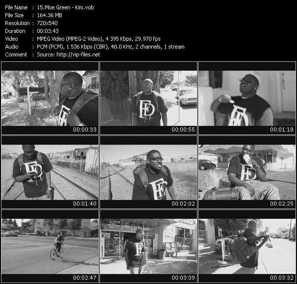 Moe Green video screenshot