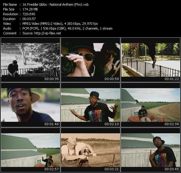 Freddie Gibbs video screenshot