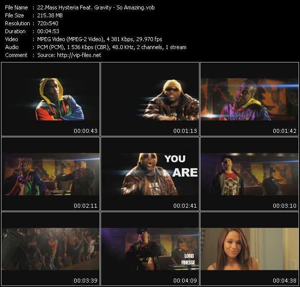 Mass Hysteria Feat. Gravity video screenshot