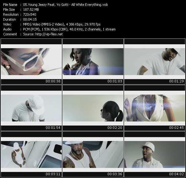 video All White Everything screen