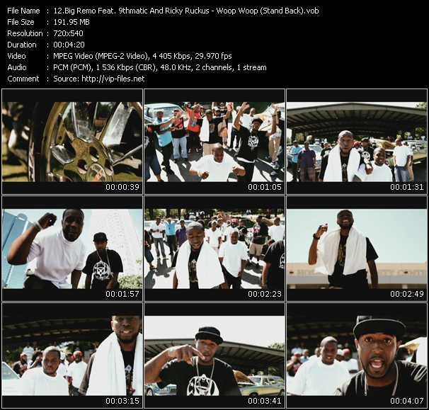 Big Remo Feat. 9thmatic And Ricky Ruckus video screenshot