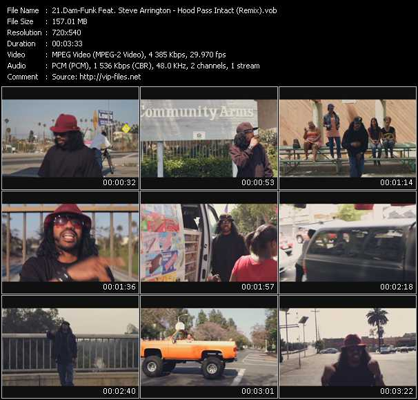Dam-Funk Feat. Steve Arrington video screenshot