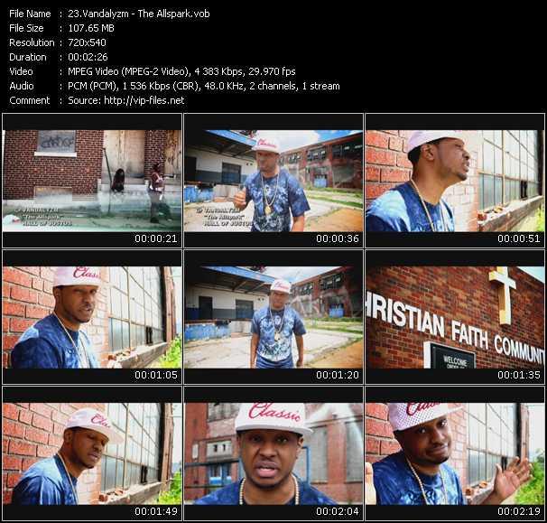 Vandalyzm video screenshot