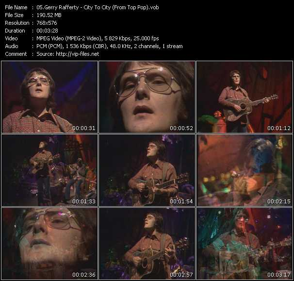 Gerry Rafferty video screenshot