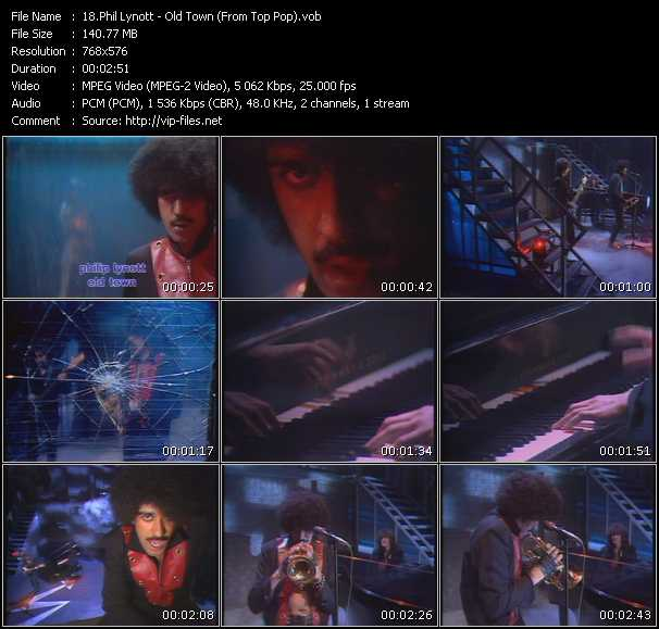Phil Lynott video screenshot