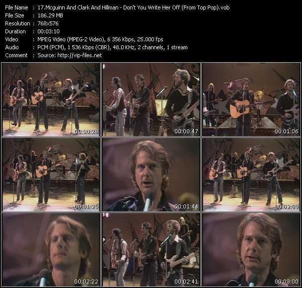 McGuinn, Clark And Hillman video screenshot