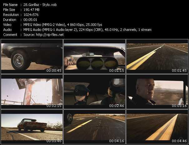 video Stylo screen