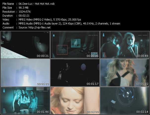 Dee-Lux video screenshot
