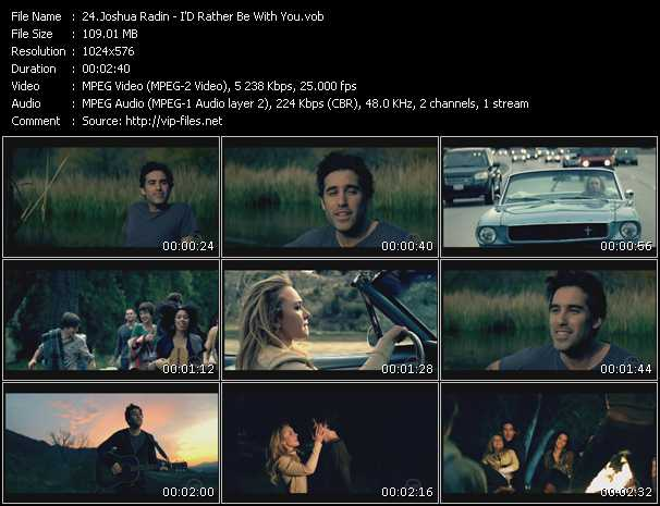 Joshua Radin video screenshot
