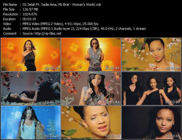 Selah Feat. Sadie Ama, Mz Bratt And Duchess video screenshot