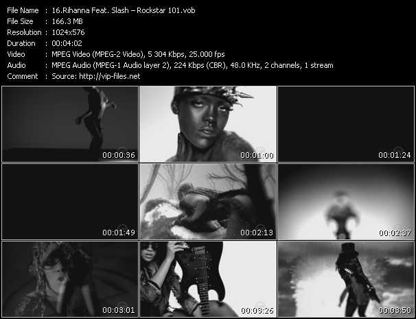 Rihanna Feat. Slash video screenshot