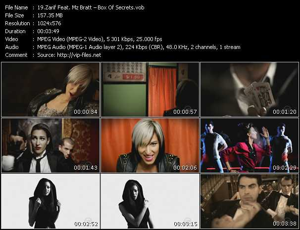Zarif Feat. Mz Bratt video screenshot