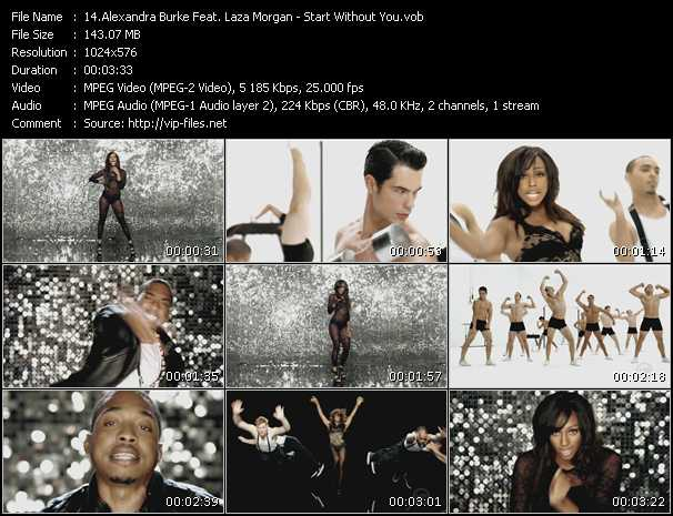 Alexandra Burke Feat. Laza Morgan video screenshot