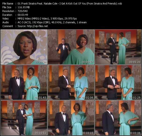 Frank Sinatra Feat. Natalie Cole video screenshot