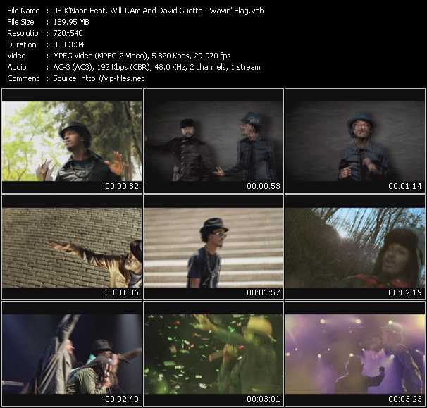 K'Naan Feat. Will.I.Am And David Guetta video screenshot