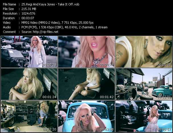 Regi And Kaya Jones video screenshot