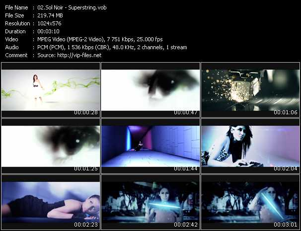 Sol Noir video screenshot