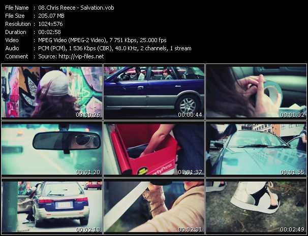 Chris Reece video screenshot