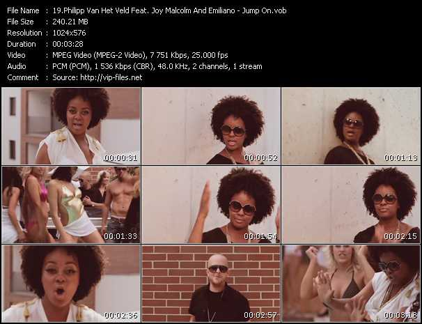 Philipp Van Het Veld Feat. Joy Malcolm And Emiliano video screenshot