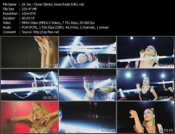 video Closer (Bimbo Jones Radio Edit) screen