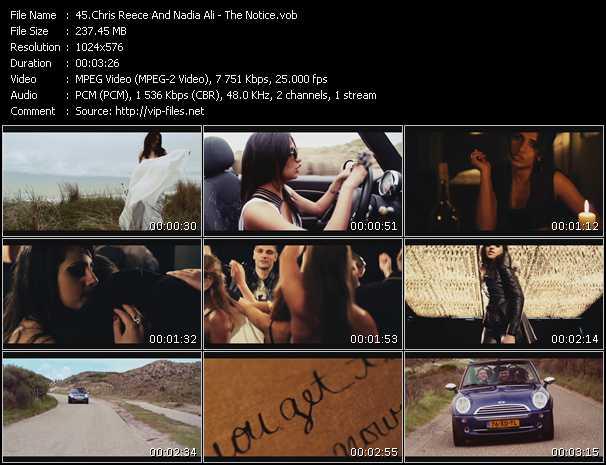 Chris Reece And Nadia Ali video screenshot