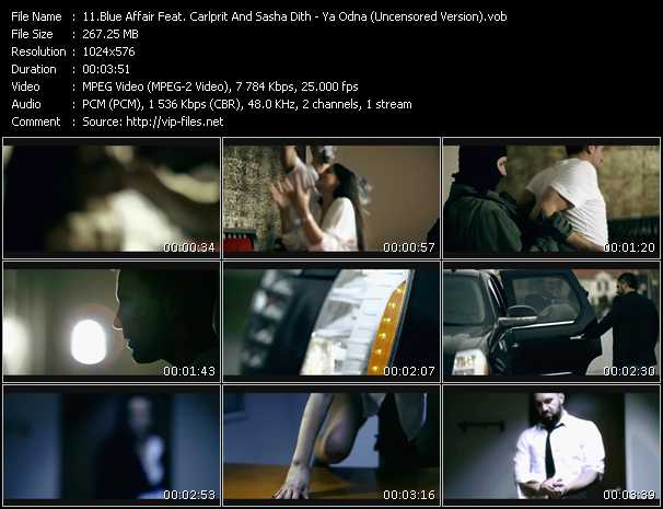Blue Affair Feat. Carlprit And Sasha Dith video screenshot