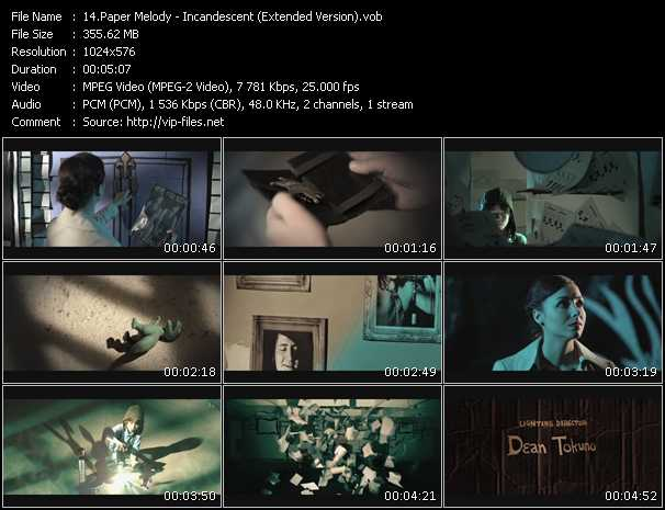 Paper Melody video screenshot