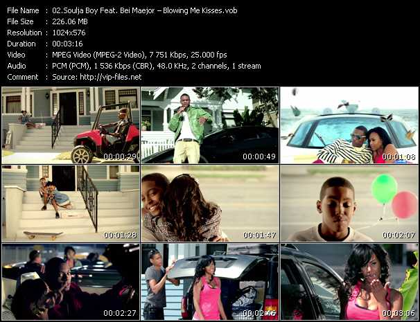 Soulja Boy Tell 'Em Feat. Bei Maejor video screenshot