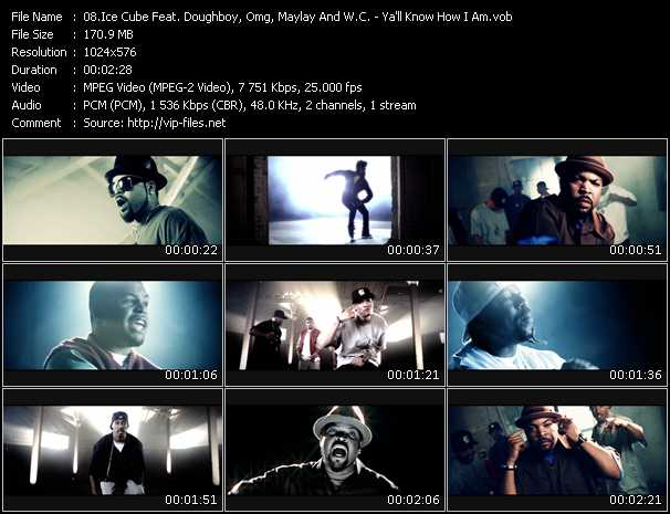 Ice Cube Feat. Doughboy, Omg, Maylay And W.C. video screenshot