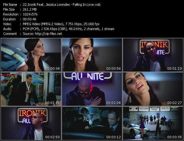 Ironik Feat. Jessica Lowndes video screenshot