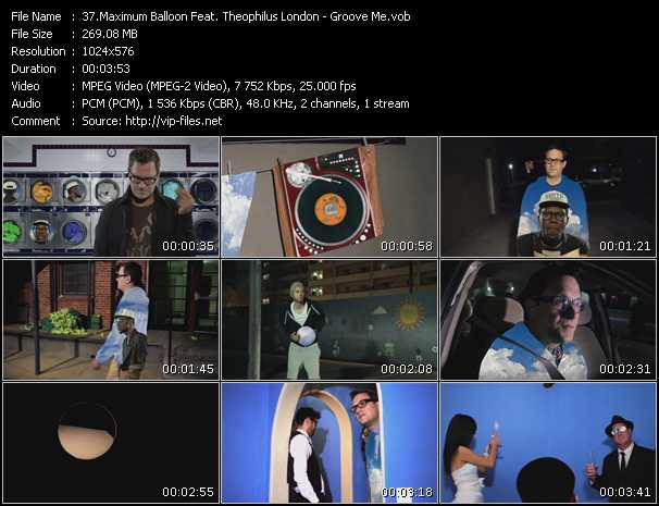 Maximum Balloon Feat. Theophilus London video screenshot