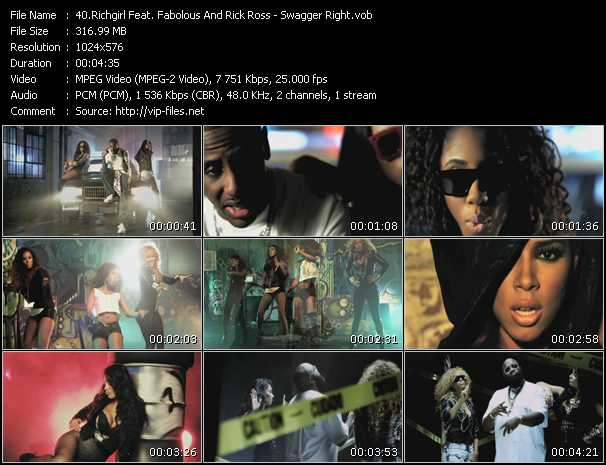 Richgirl Feat. Fabolous And Rick Ross video screenshot