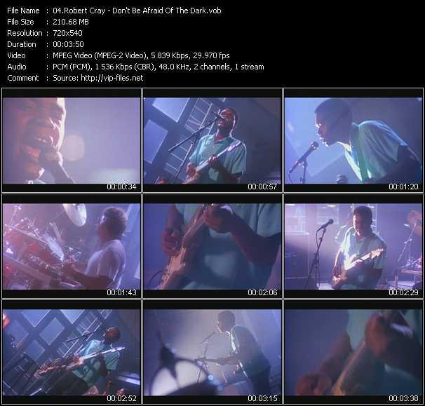Robert Cray (Robert Cray Band) video screenshot