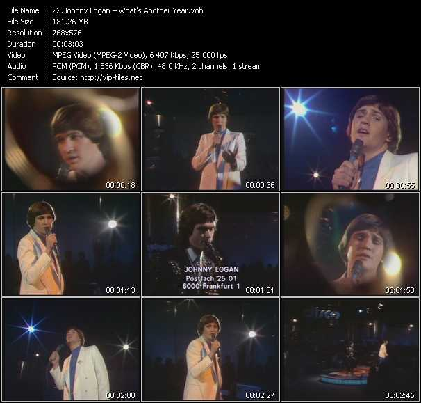 Johnny Logan video screenshot