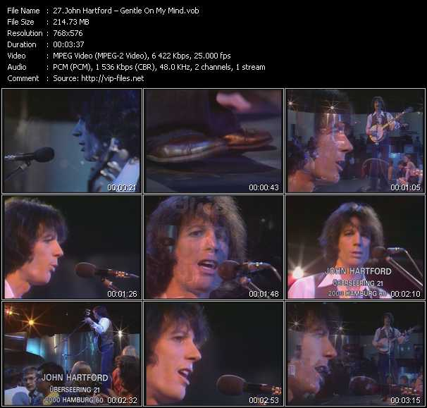 John Hartford video screenshot